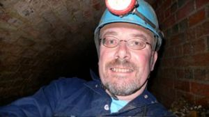 Geoff Holland in Tunnel, April 2007
