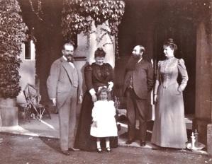Jay family at Blendon 1898