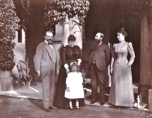 Jay family at Blendon 1898