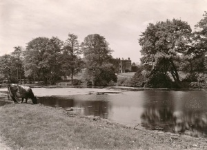 Blendon Hall from across the Lake, 1925