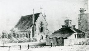 Market Place, Bexley Heath c1860, opposite the Congregational Church