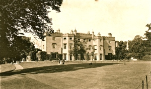 Blendon Hall in 1900