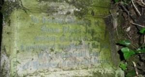 Gravestone of Anna Riggs Jay at St Mary's Church, Bexley