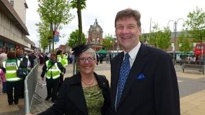 Margi Carlson and Roger Mayo