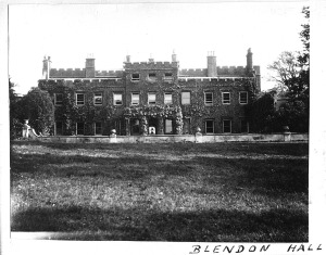 Blendon western elevation 1923
